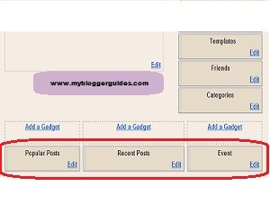 How To Add 3 Column Footer Bar To Blogger