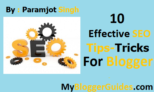 SEO Tips-Tricks For Blogger Blogspot.