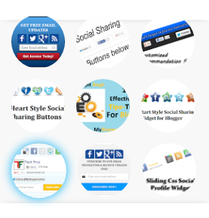 Add Circle Image Style For Popular Posts in Blogger Blog