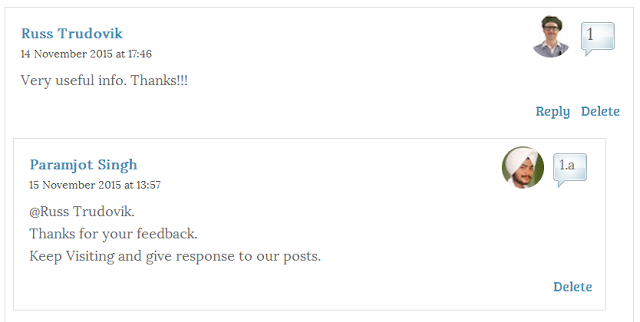 How to Add Numbers To Blogger Threaded Comments