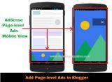 AdSense Page-Level Ads for Blogger Blog Mobile View