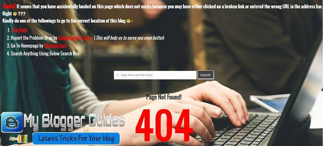 create 404 page, design 404 page, blogger error 404 page, page not found blogger, 404 error page, custom 404 page, error page blogger