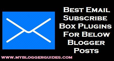 Subscription Box, Below Post Subscribe Box, Subscription Box for Blogger