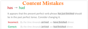 Content Mistakes in Blog Posts
