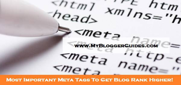 Meta Tags, Important Meta Tags, Meta Tags for SEO