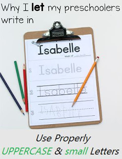 Use Lowercase letters, writing tips for beginners, use uppercase letters
