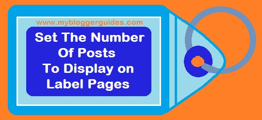 label setting, post setting, post display setting, label page