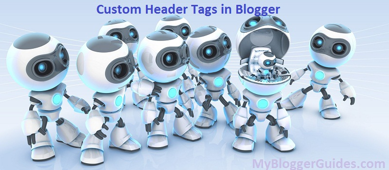Custom Robots Header Tags Settings in Blogger