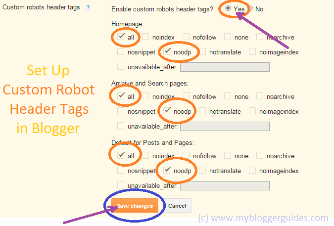 custom robots header tags, blogger header tags, custom header tags, blogspot setting header tags, blogger setting header tags
