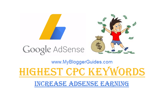 Adsense Highest CPC Keywords List