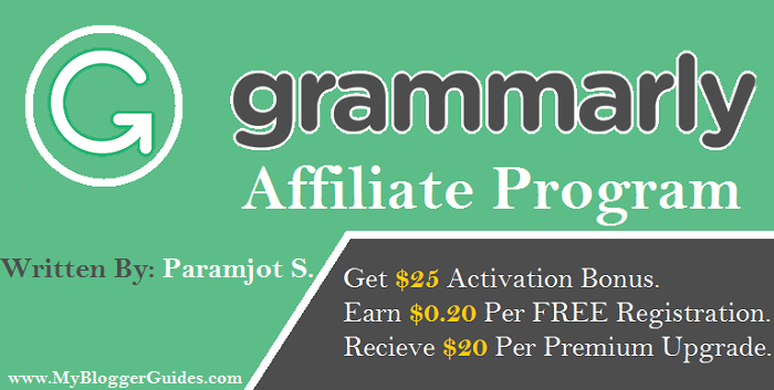 Grammarly Affiliate Program, Grammarly Affiliate Marketing Program