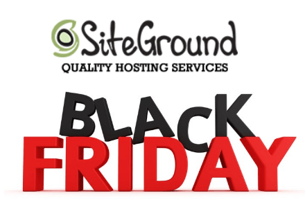 SiteGround Black Friday & Cyber Monday 2017 offer