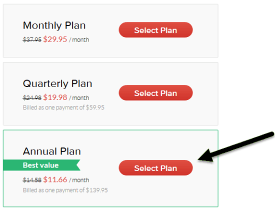 Grammarly's Discounted Pricing