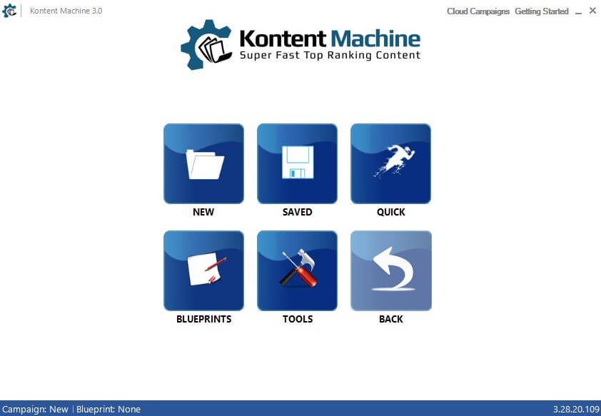 Kontent Machine Home