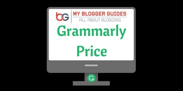 Grammarly Price